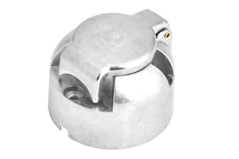 Base de enchufe Aluminio hembra de 7 polos