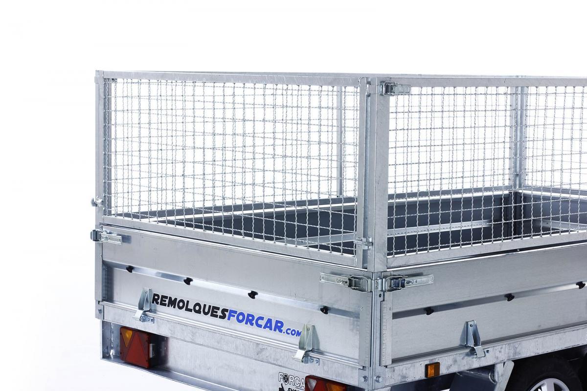 Laterales de reja de 60cm. para POWER BOX-ECO