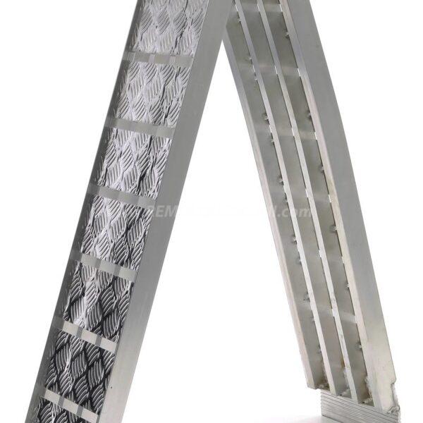 Rampa Plegable para Remolque 680Kg. de aluminio
