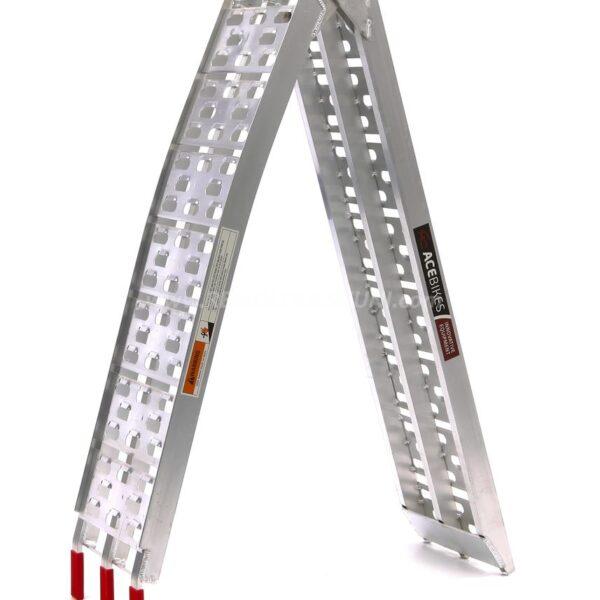 Rampa plegable de aluminio para 340Kg