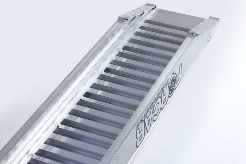 Juego 2 Rampas para Remolque 3.700Kg de 2,95 x 0,30m de aluminio