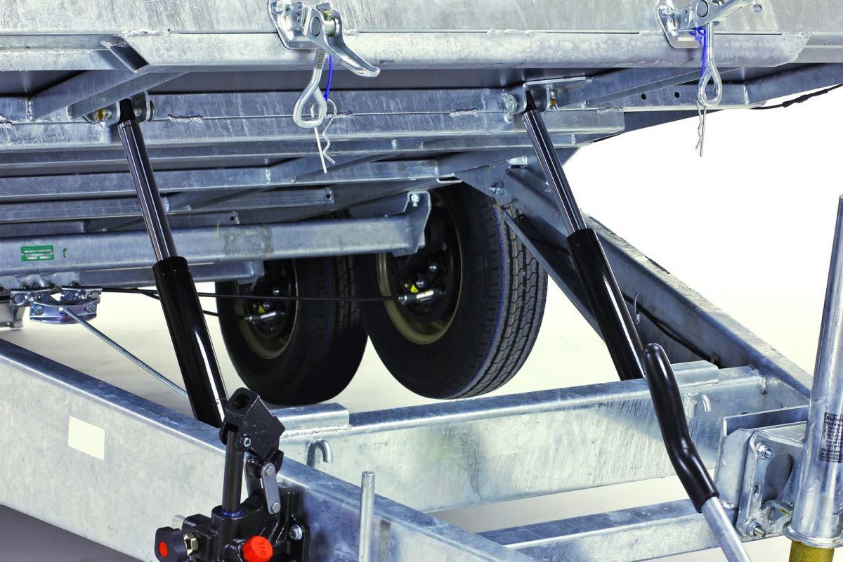 Kit basculación hidráulica + Rampa TOPLINE 630 y 632