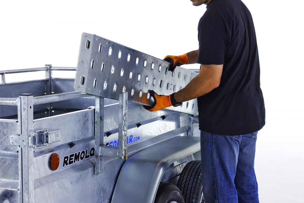 Kit rampas + soporte + pies de apoyo para ROBUST