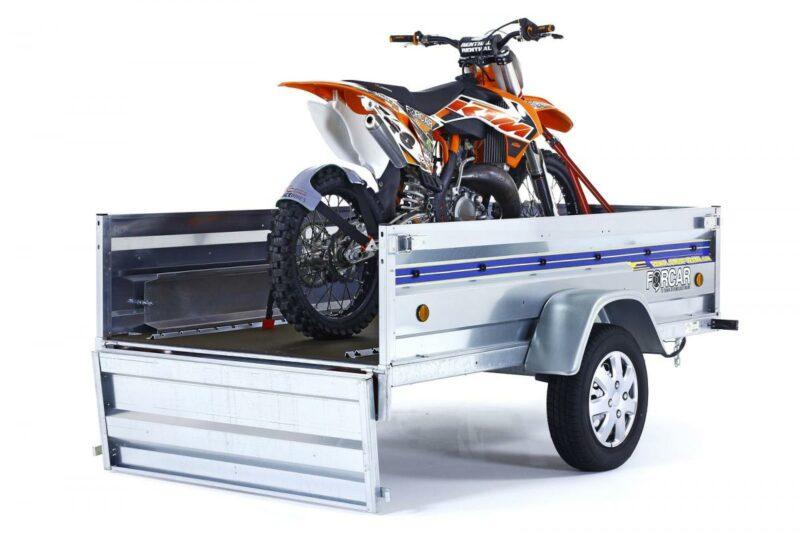 Guías de sujeción rueda de moto remolque