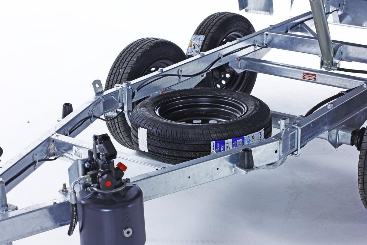 Soporte rueda de repuesto FORCAR POWER BOX ECO