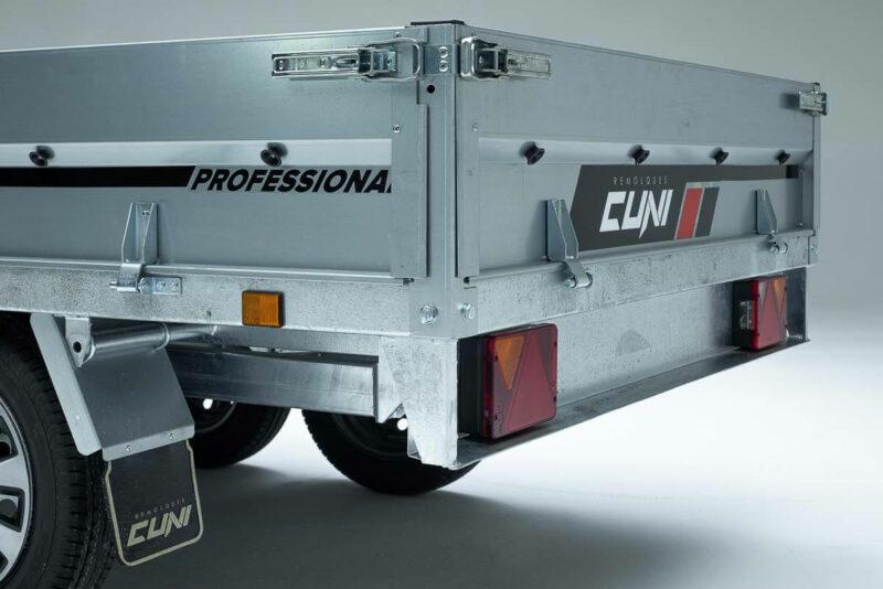 Remolque de carga Cuni 250 Max 1 1