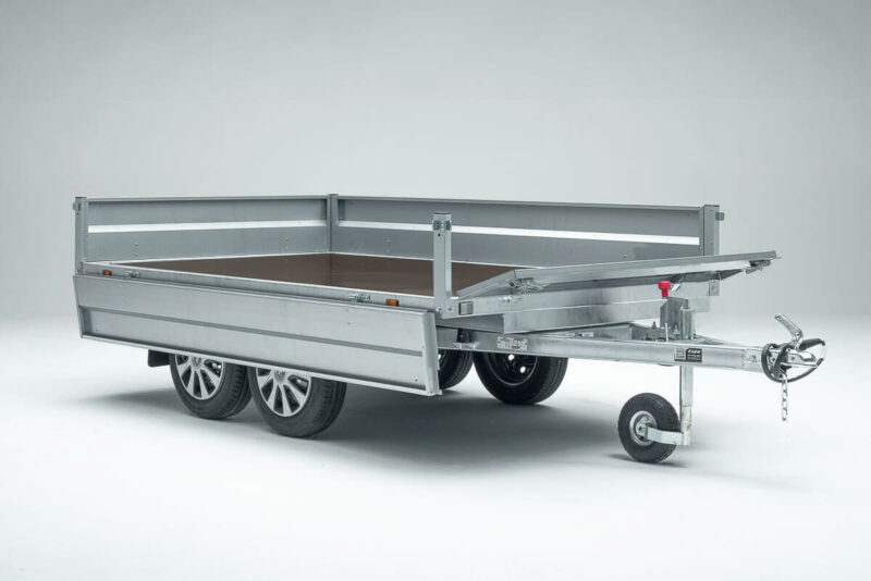 Remolque de carga Cuni 250 Max 18