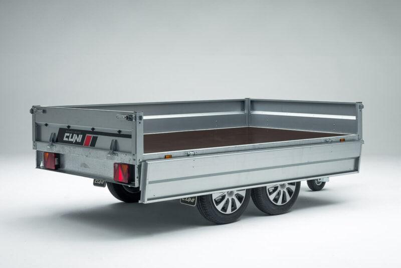 Remolque de carga Cuni 250 Max 8
