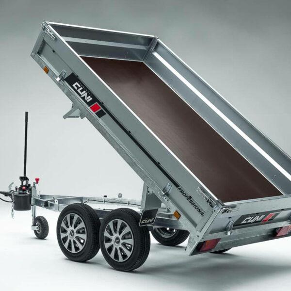 Remolque de carga basculante Power Box Eco