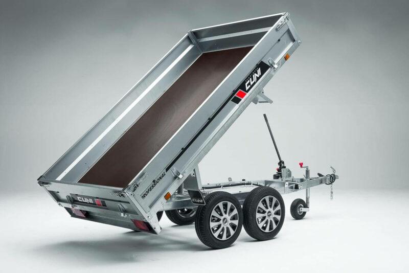 Remolque de carga basculante Power Box Eco 11