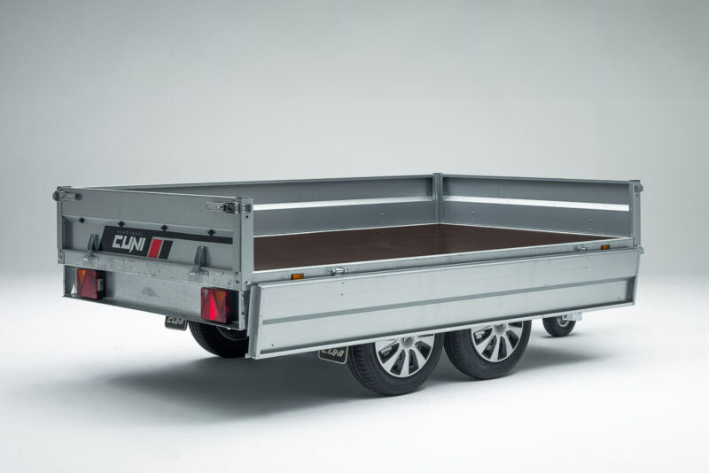 Remolque de carga basculante Power Box Eco 12