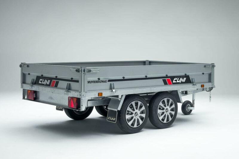 Remolque de carga basculante Power Box Eco 14