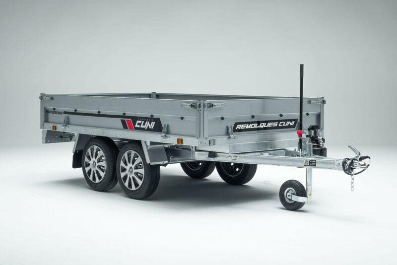 Remolque de carga basculante Power Box Eco 18
