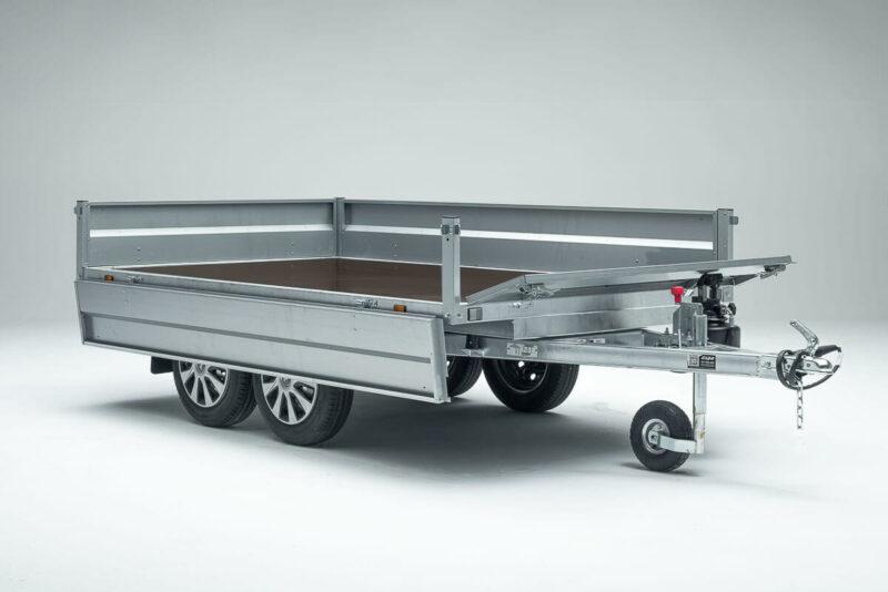Remolque de carga basculante Power Box Eco 19