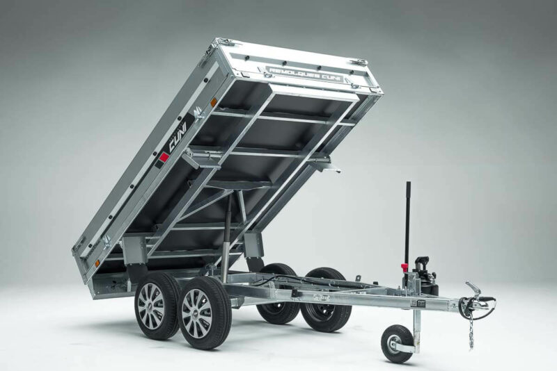 Remolque de carga basculante Power Box Eco 20