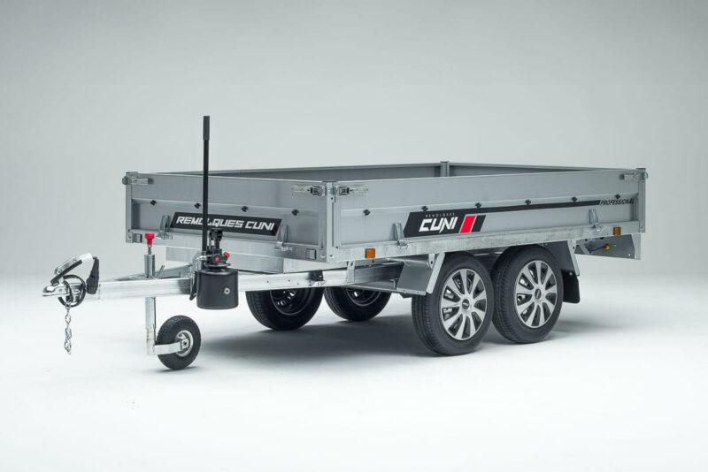 Remolque de carga basculante Power Box Eco 21