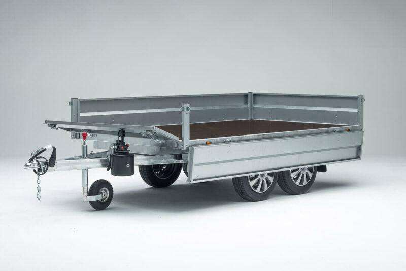 Remolque de carga basculante Power Box Eco 22