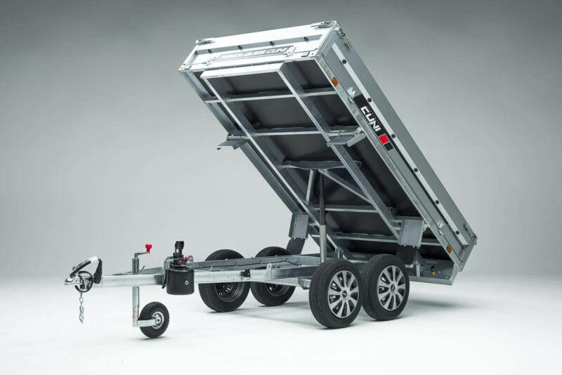 Remolque de carga basculante Power Box Eco 23