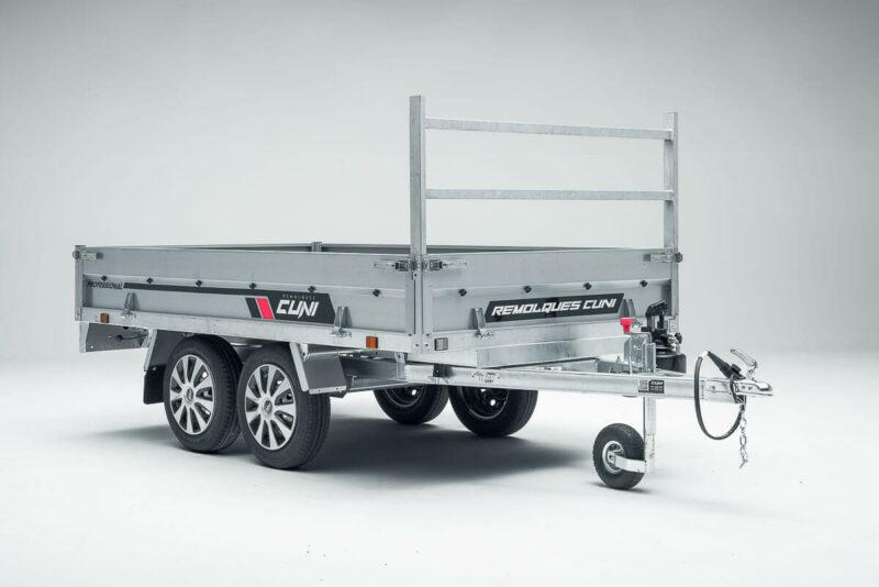 Remolque de carga basculante Power Box Eco 24
