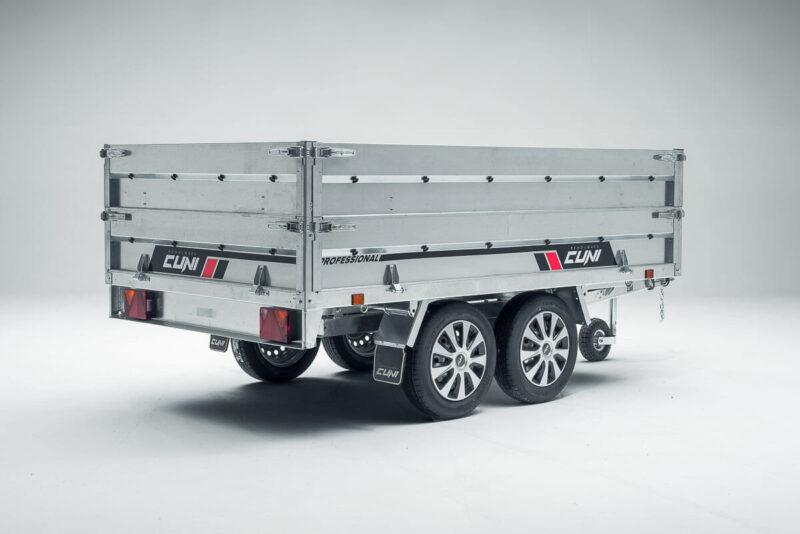 Remolque de carga basculante Power Box Eco 25