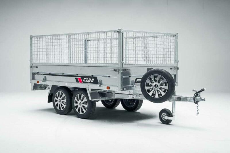 Remolque de carga basculante Power Box Eco 26