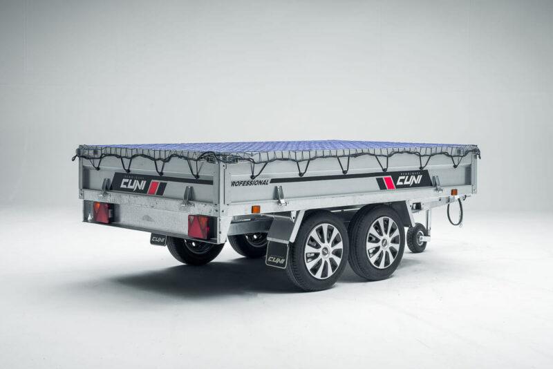 Remolque de carga basculante Power Box Eco 27