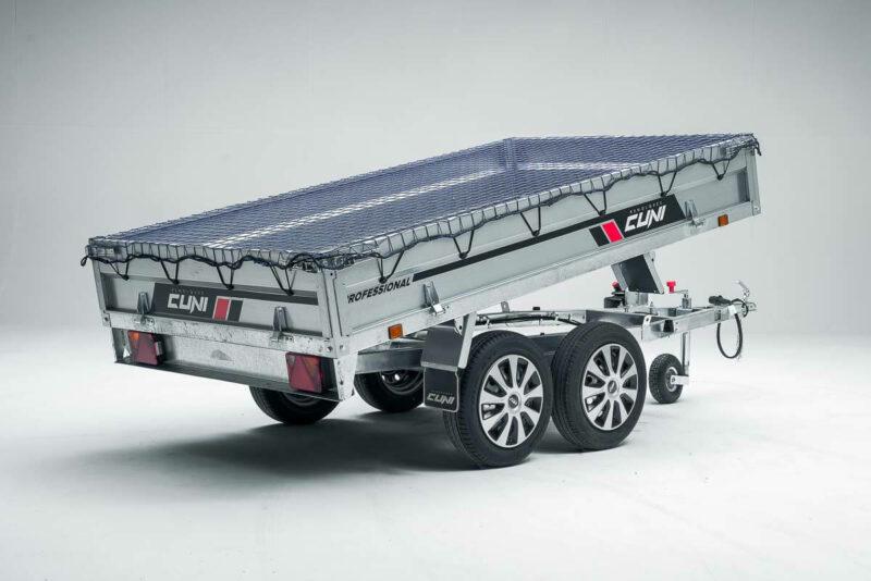 Remolque de carga basculante Power Box Eco 28