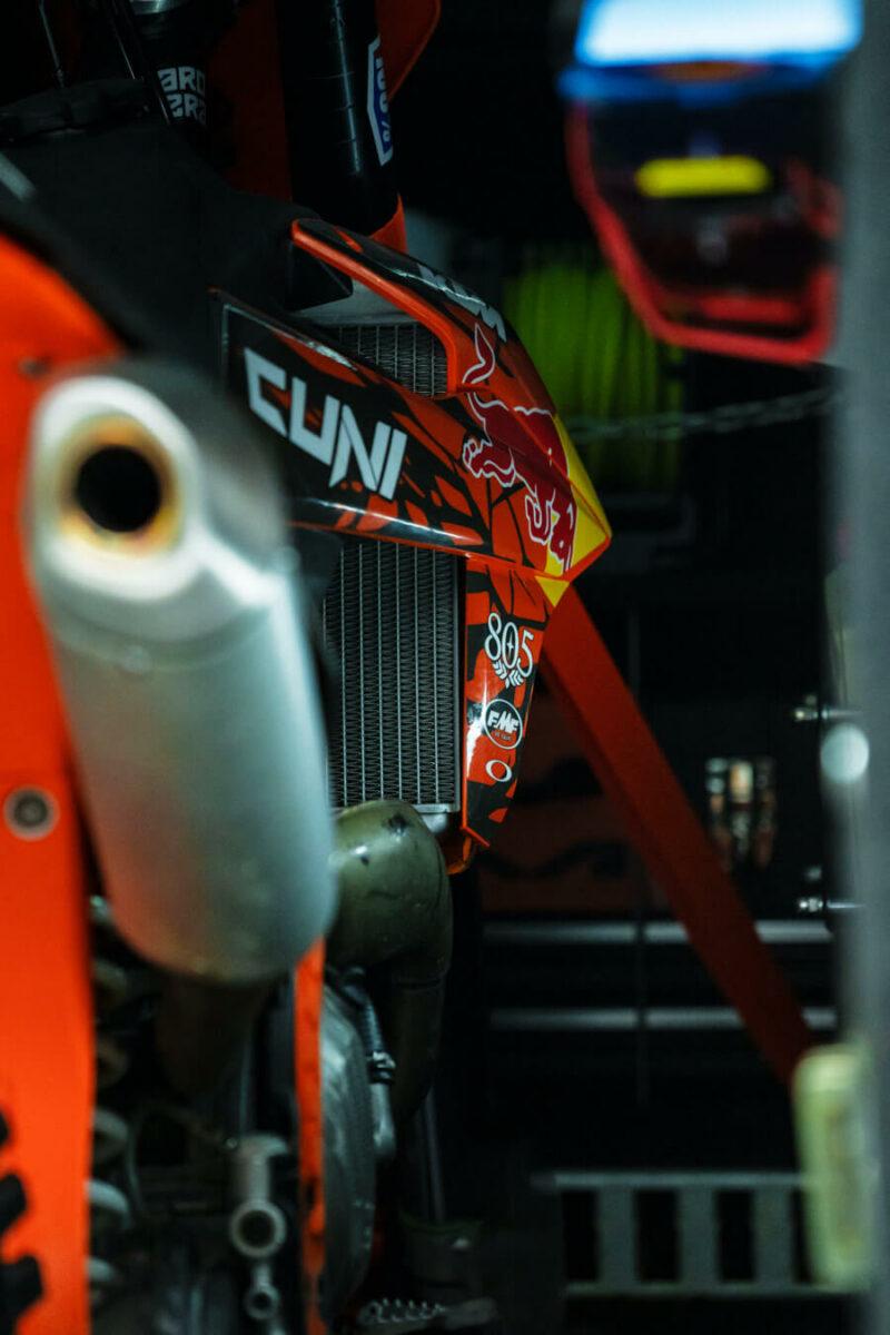Remolque de fibra ONNE RACE interior 19