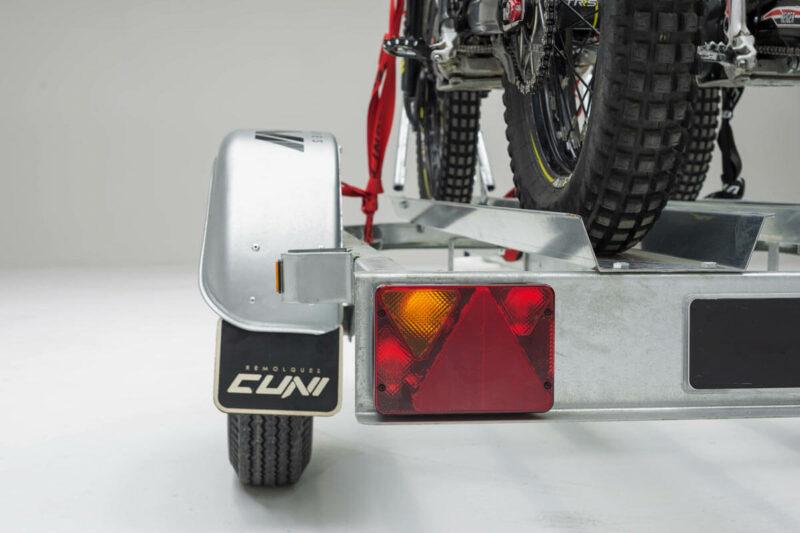 Remolque para dos motos SPORTMAN 2R 12
