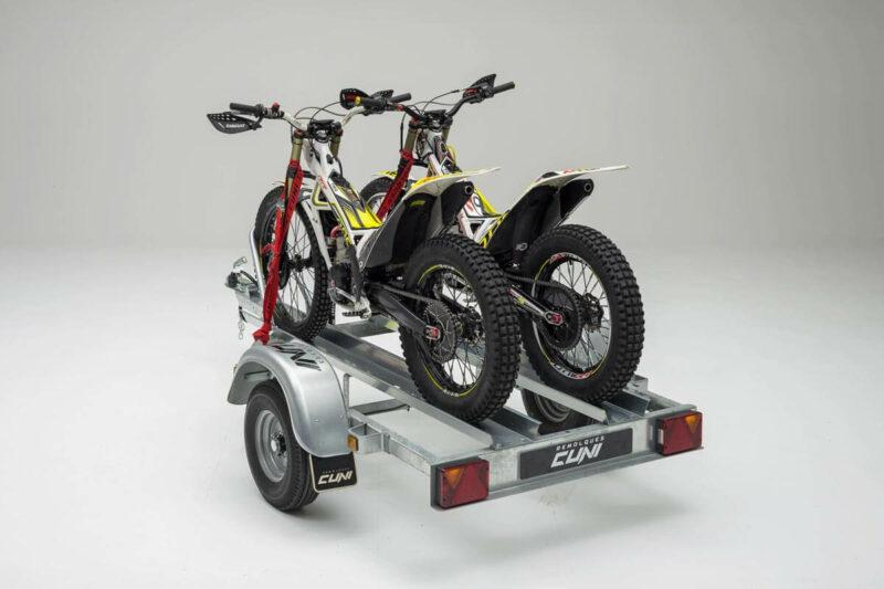 Remolque para dos motos SPORTMAN 2R 8