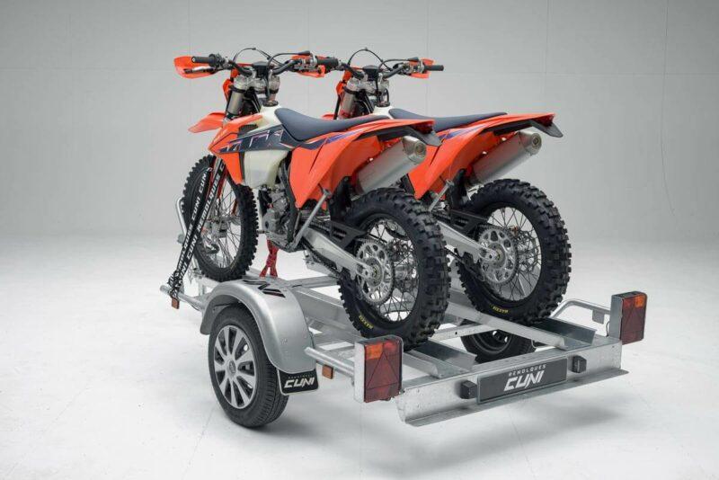 Remolque para dos motos grandes GALLARDO 2R 12