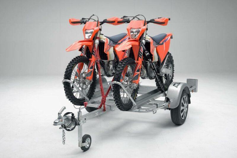 Remolque para dos motos grandes GALLARDO 2R 13