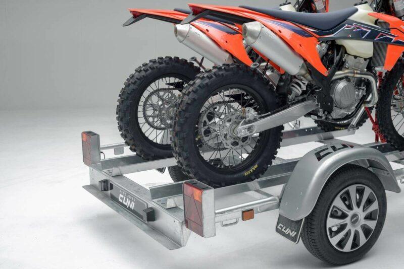 Remolque para dos motos grandes GALLARDO 2R 21