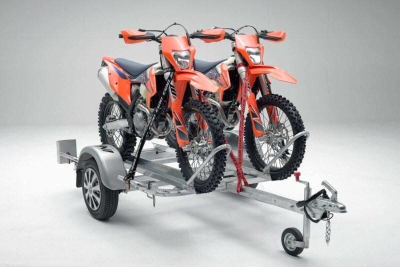Remolque para dos motos grandes GALLARDO 2R