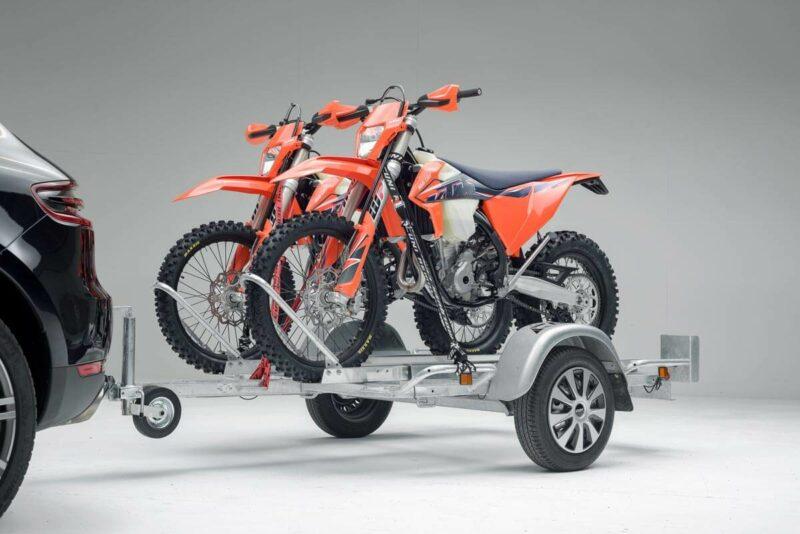 Remolque para dos motos grandes GALLARDO 2R 9