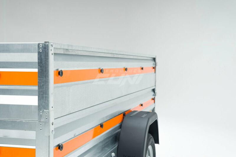 Remolque de carga ECONOMIC 200 doble lateral