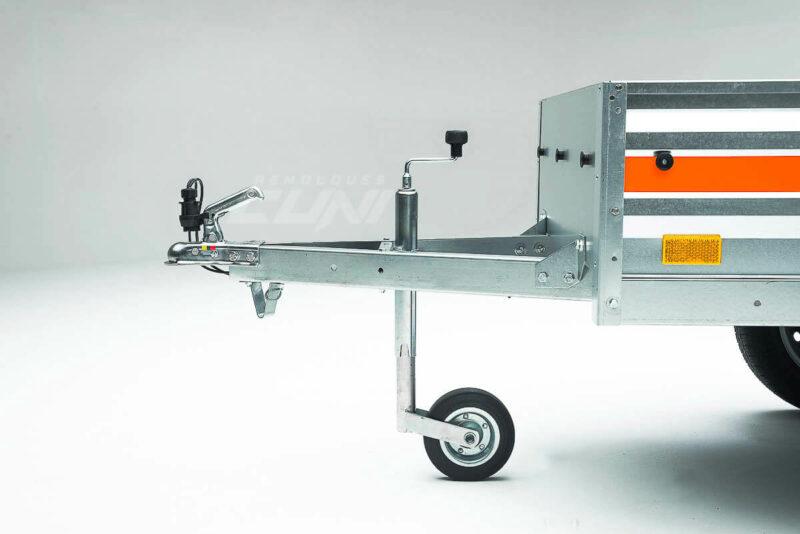 Remolque de carga ECONOMIC 200 lona 80cm