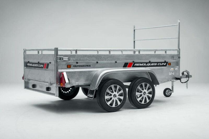 Remolque de carga basculante Power box robust 10