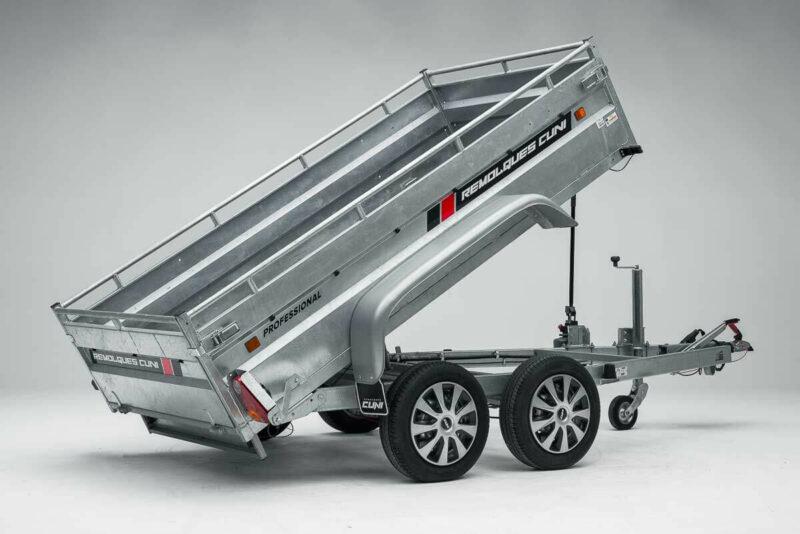 Remolque de carga basculante Power box robust 17
