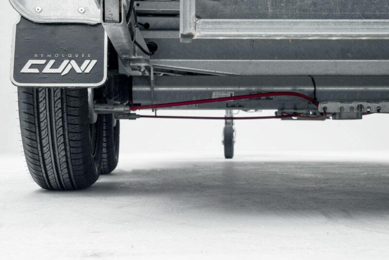 Remolque de carga basculante Power box robust 2