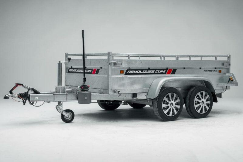 Remolque de carga basculante Power box robust 21