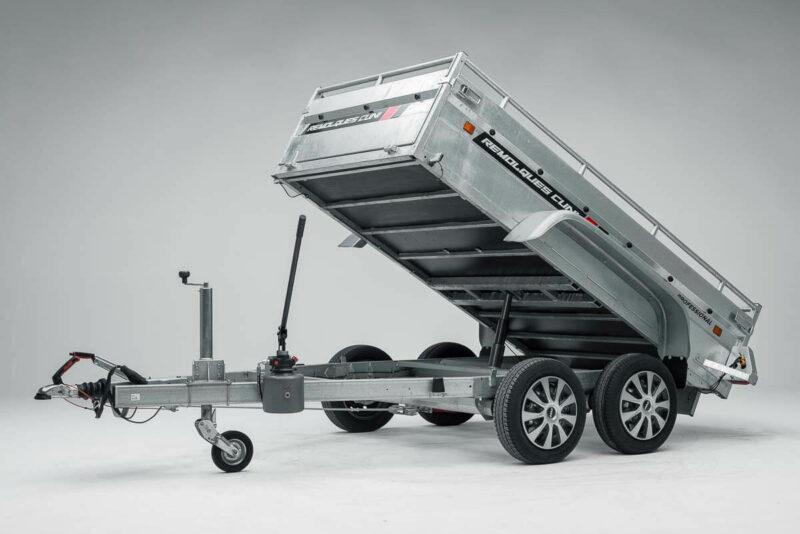Remolque de carga basculante Power box robust 22