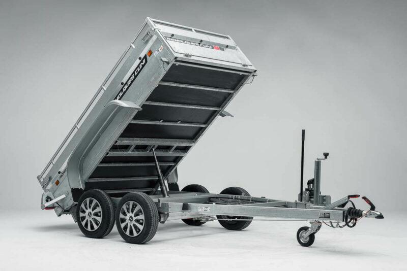 Remolque de carga basculante Power box robust 24