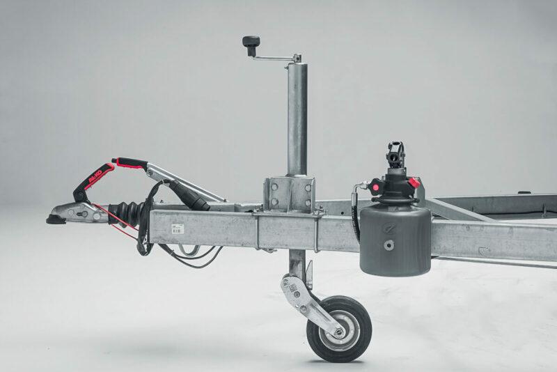 Remolque de carga basculante Power box robust 4