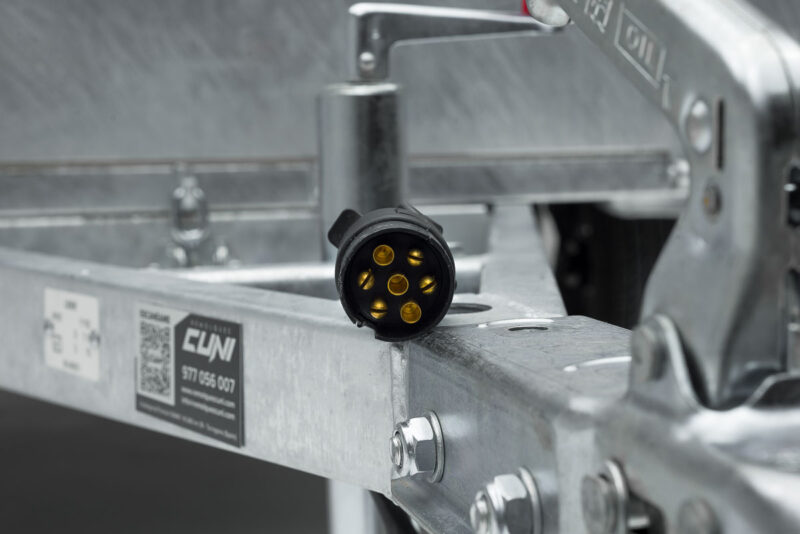 Remolque de carga reforzado ROBUST R2 25