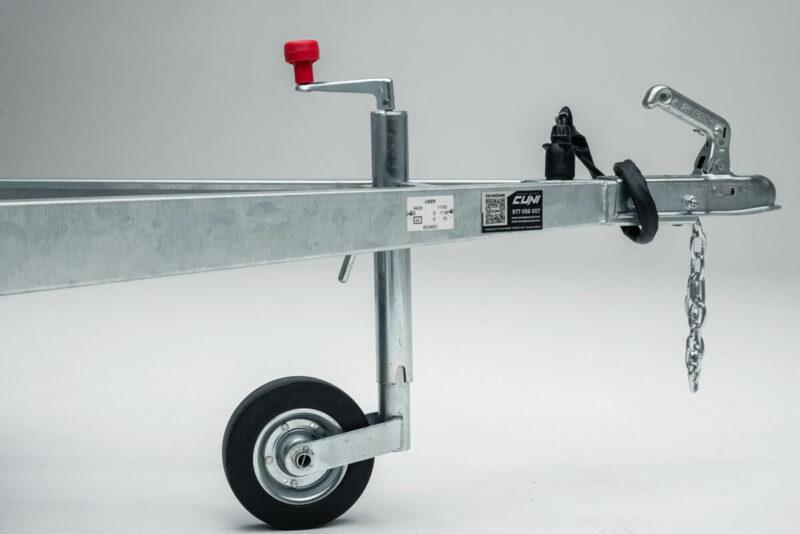 Remolque de carga reforzado ROBUST R6 19