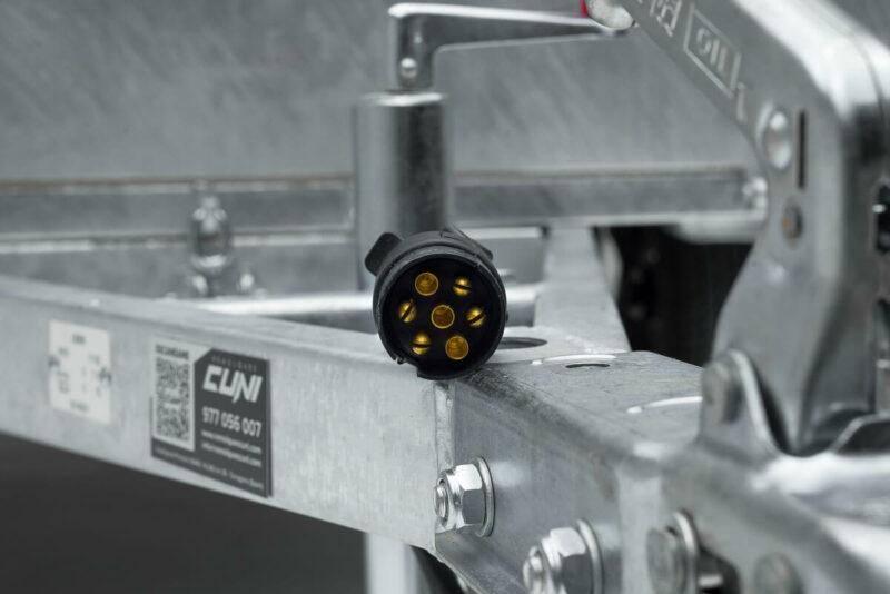 Remolque de carga reforzado ROBUST R6 20
