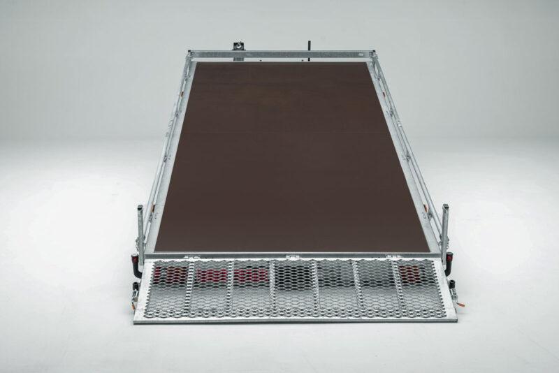 Remolque plataforma TOPLINE 660 15