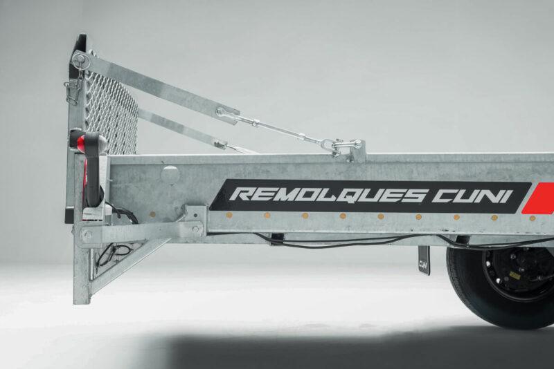 Remolque portamaquinaria RAPTOR RAMPS 2500 3