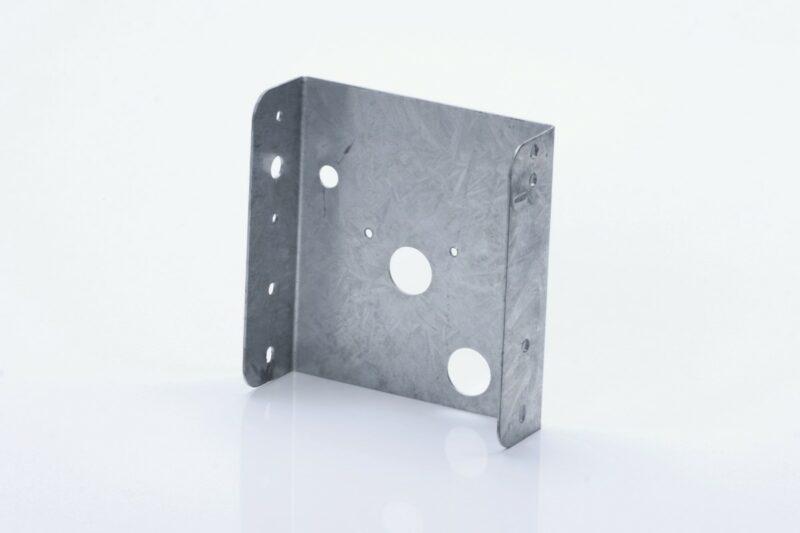 Soporte de chapa rectangular 12572A